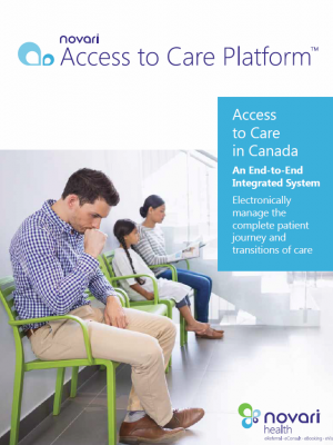 Access to Care Brochure Cover