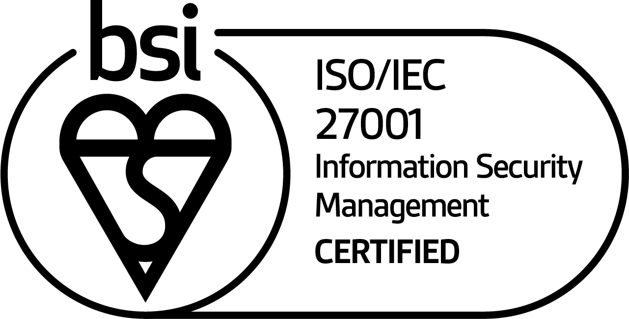 ISO/IEC 27001 Information Security Management Certified